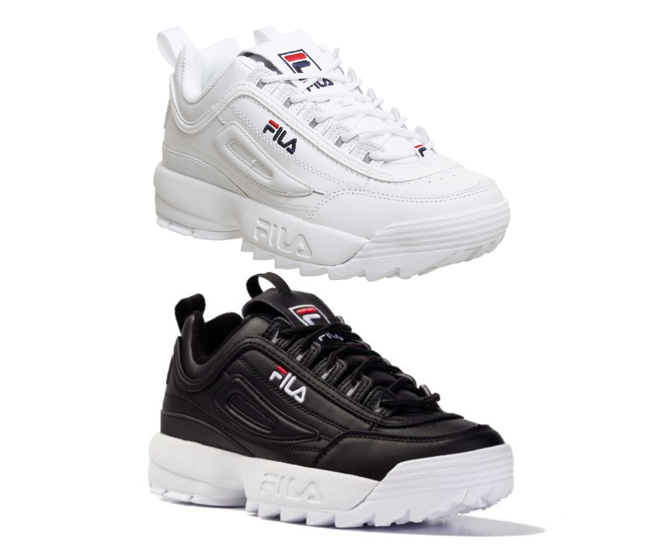 Authentiques Ii Disruptor 2 Chaussures Blanc Fila Original Unisexe 0nvmN8w