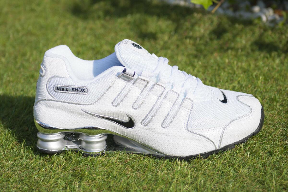 nouveaux styles 8ab8b c90ad Scarpe Nike Shox NZ EU Bianco White Argento 40, 41, 42, 43 ...