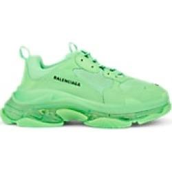 Balenciaga Men's Triple S Sneakers - Chartreuse Size 9 US