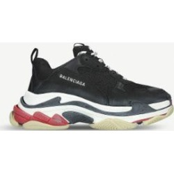 Mens Triple S Runner - Black - Balenciaga Sneakers