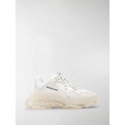 Triple S Bubble Sneakers - White - Balenciaga Sneakers