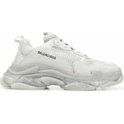 Triple S Clear Sole - Gray - Balenciaga Sneakers