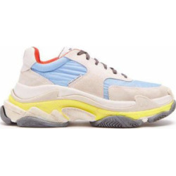 Triple S Low Top Trainers - Blue - Balenciaga Sneakers