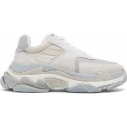 Triple S Low Top Trainers - Gray - Balenciaga Sneakers