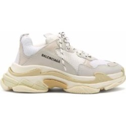Triple S Low Top Trainers - White - Balenciaga Sneakers